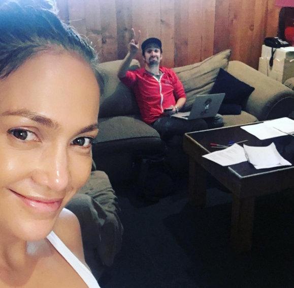 Jennifer Lopez teases a Lin Manuel Miranda collaboration