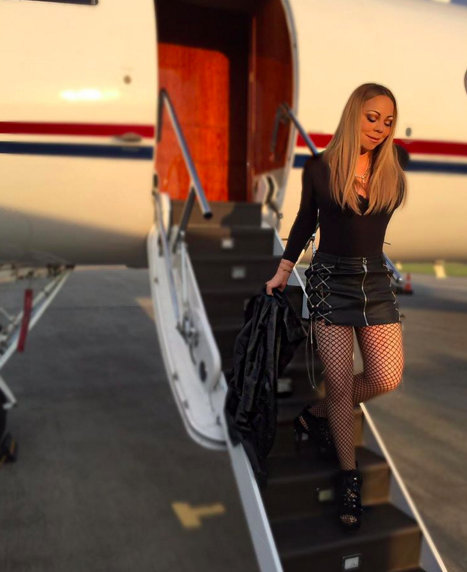 Mariah Carey's new IG post sparks Photoshop rumors