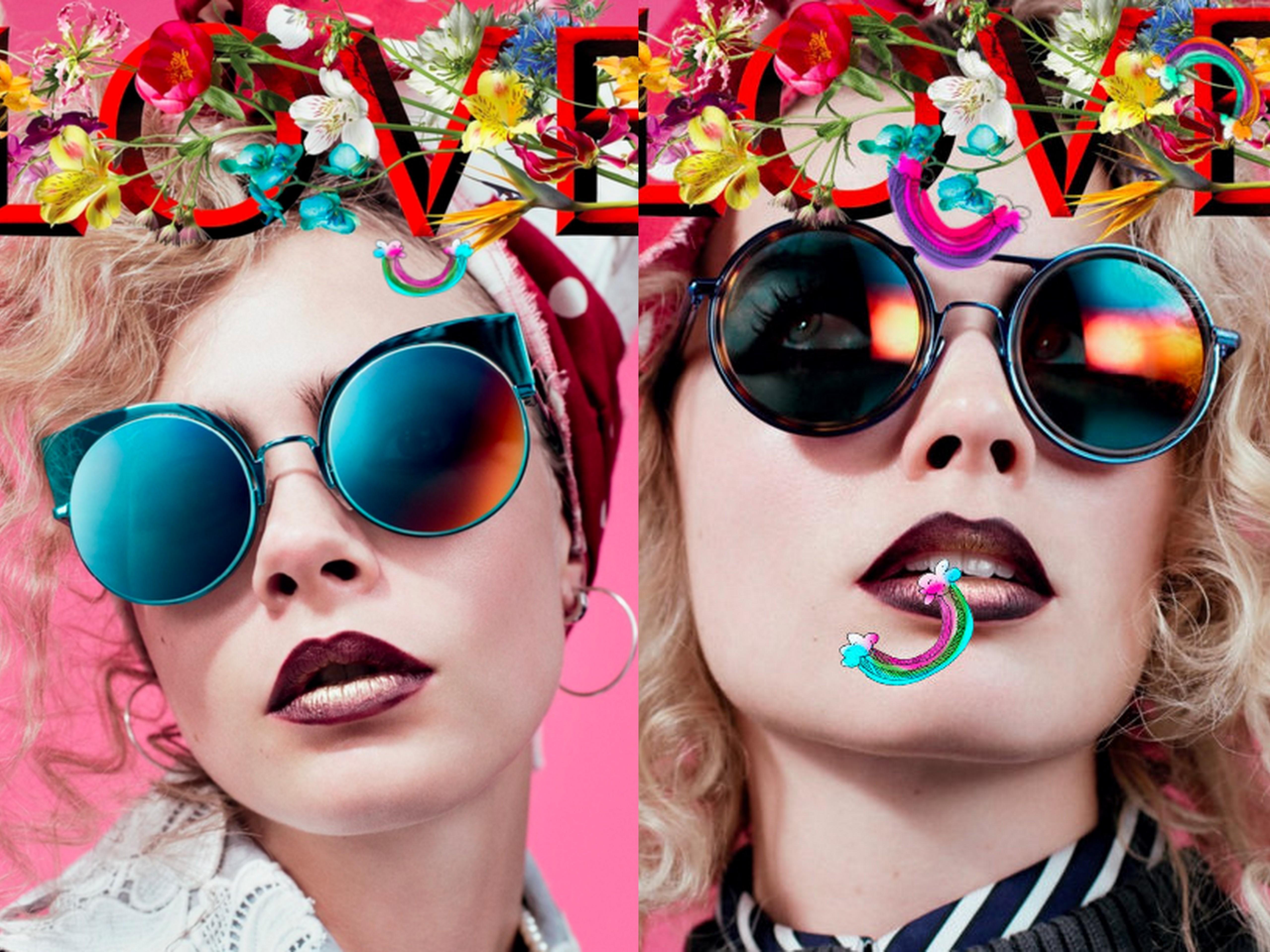 Margot Robbie, Cara Delevingne share Love magazine covers
