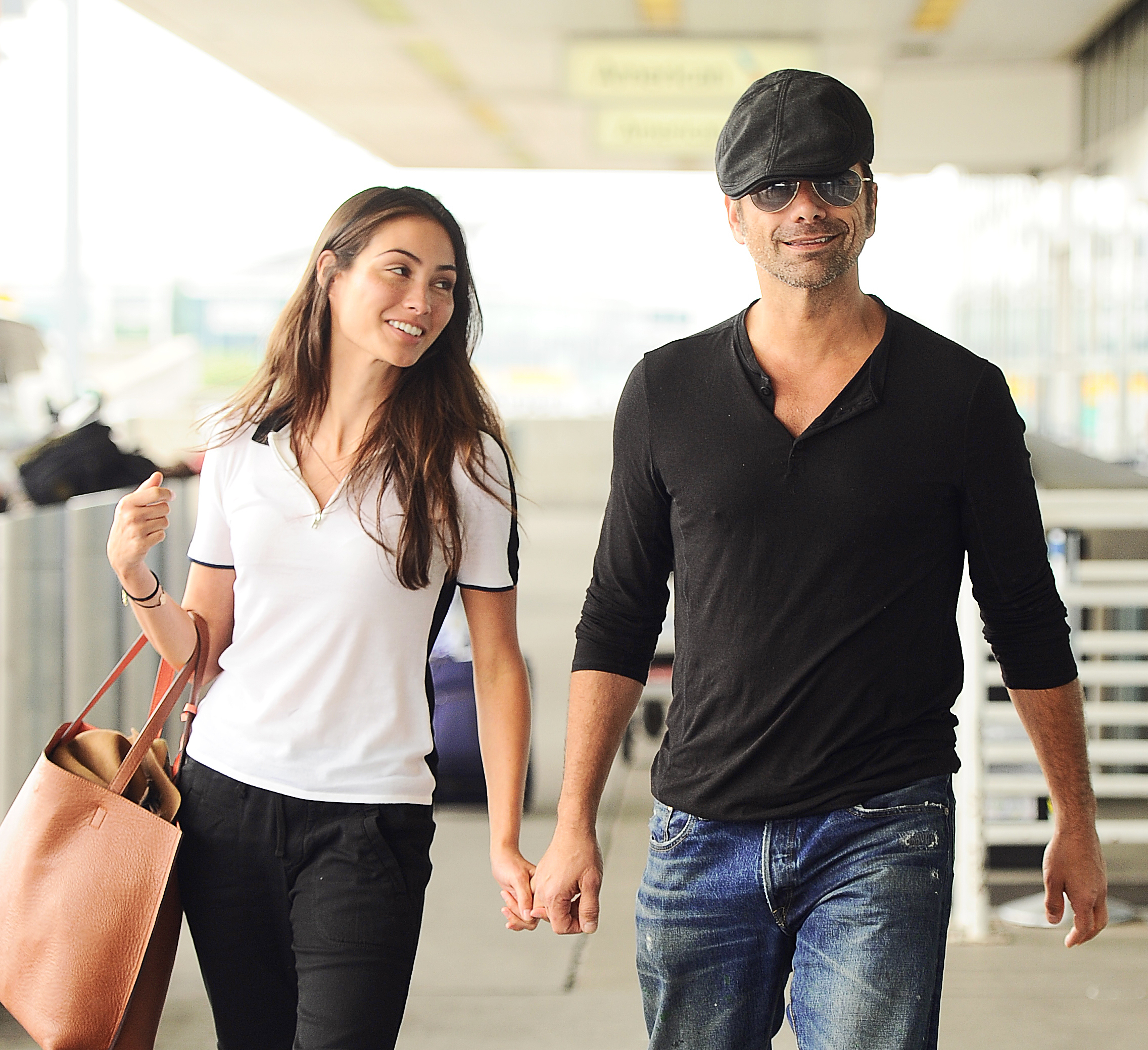 John Stamos proposes to Caitlin McHugh: All the details