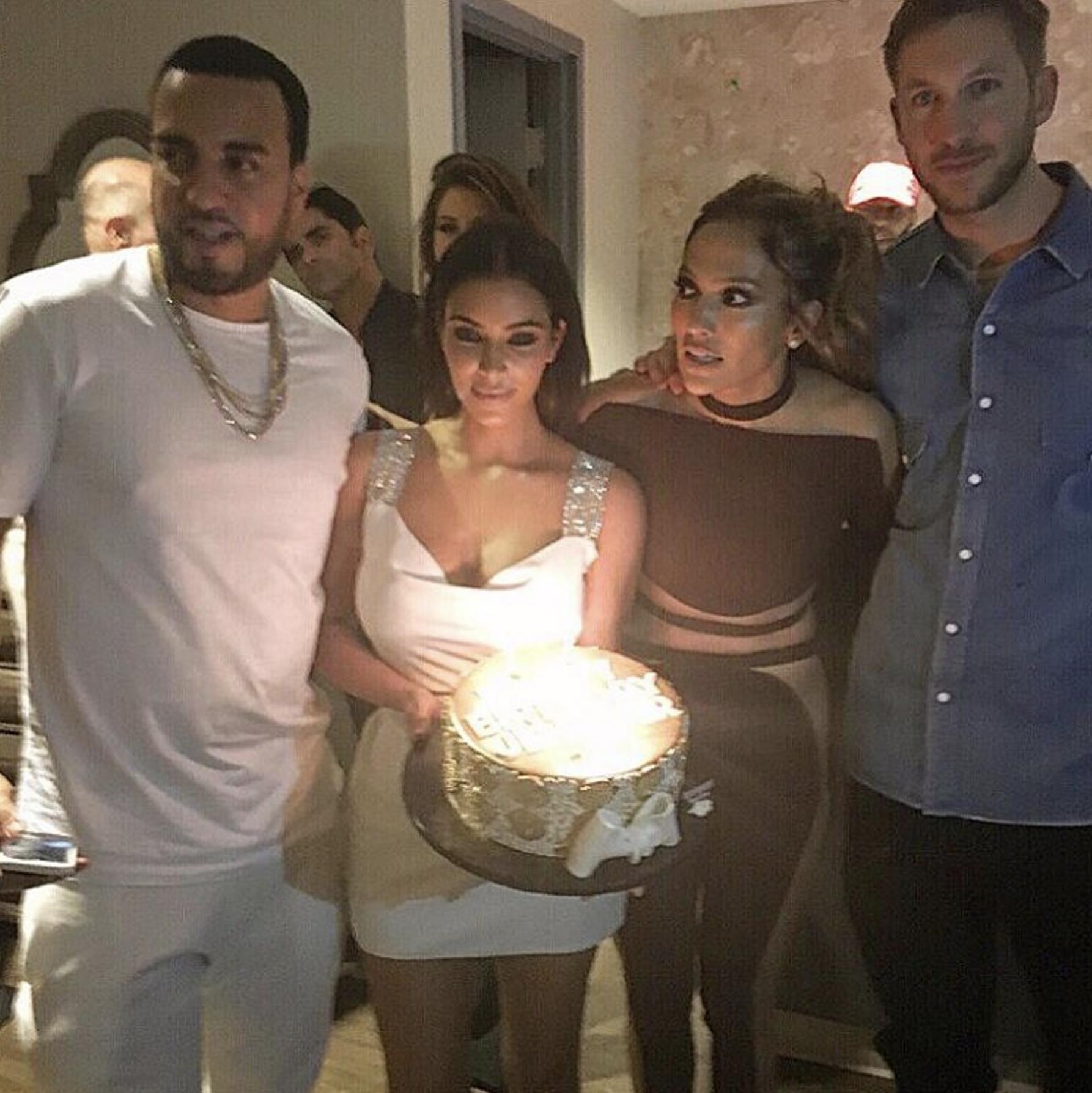 jlo birthday kim kardashian