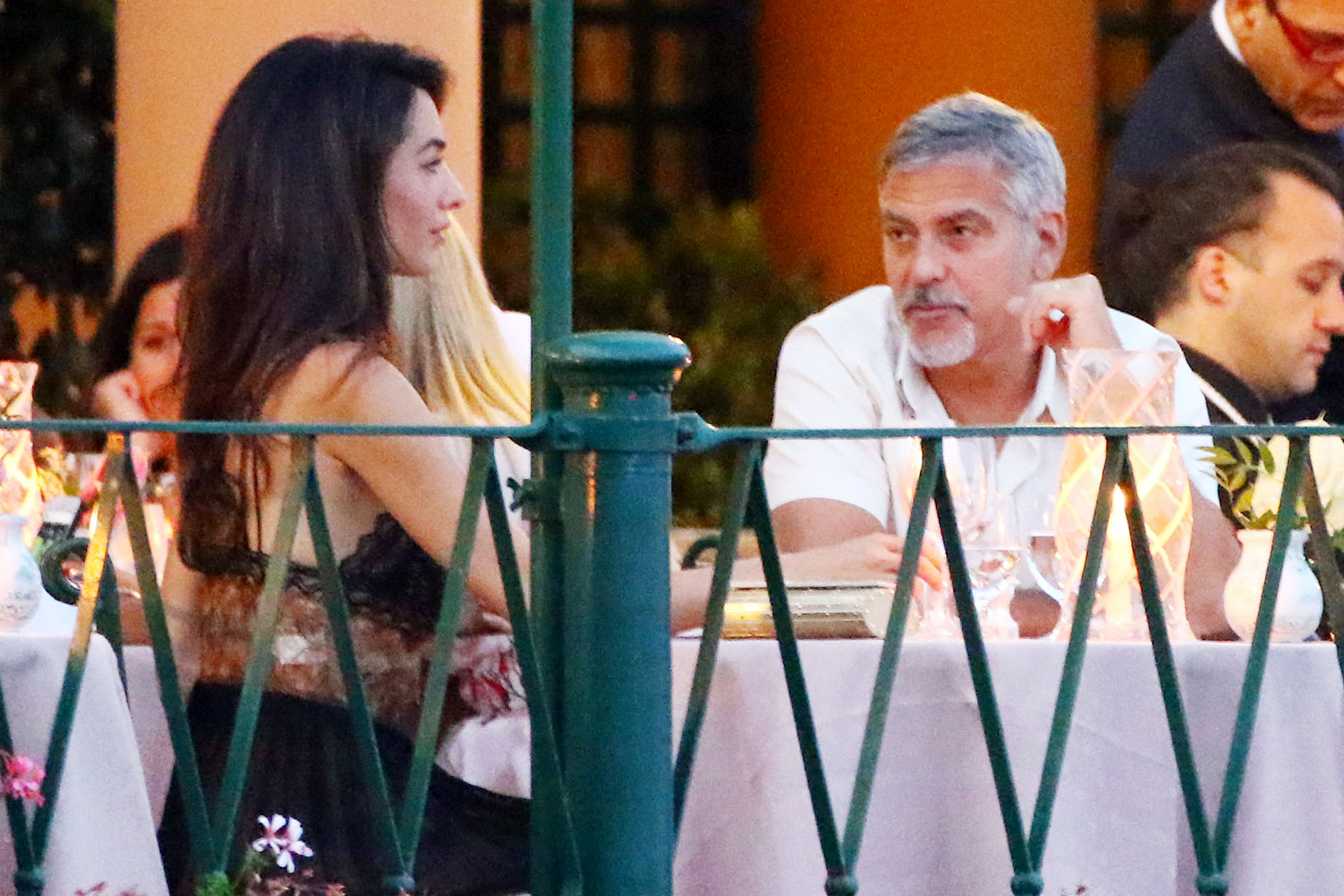 George and Amal Clooney step out for a date night in Portofino
