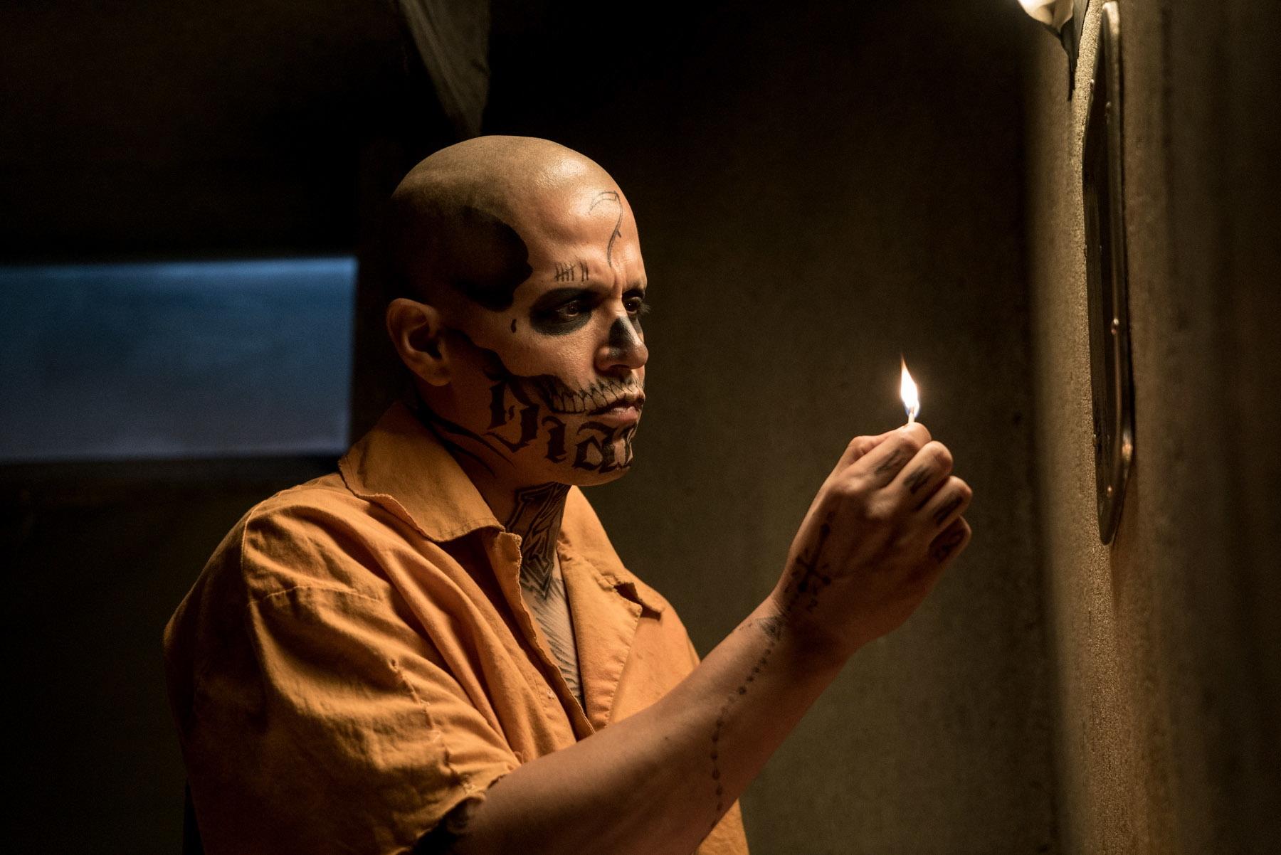 Jay Hernandez on El Diablo's tattoos: