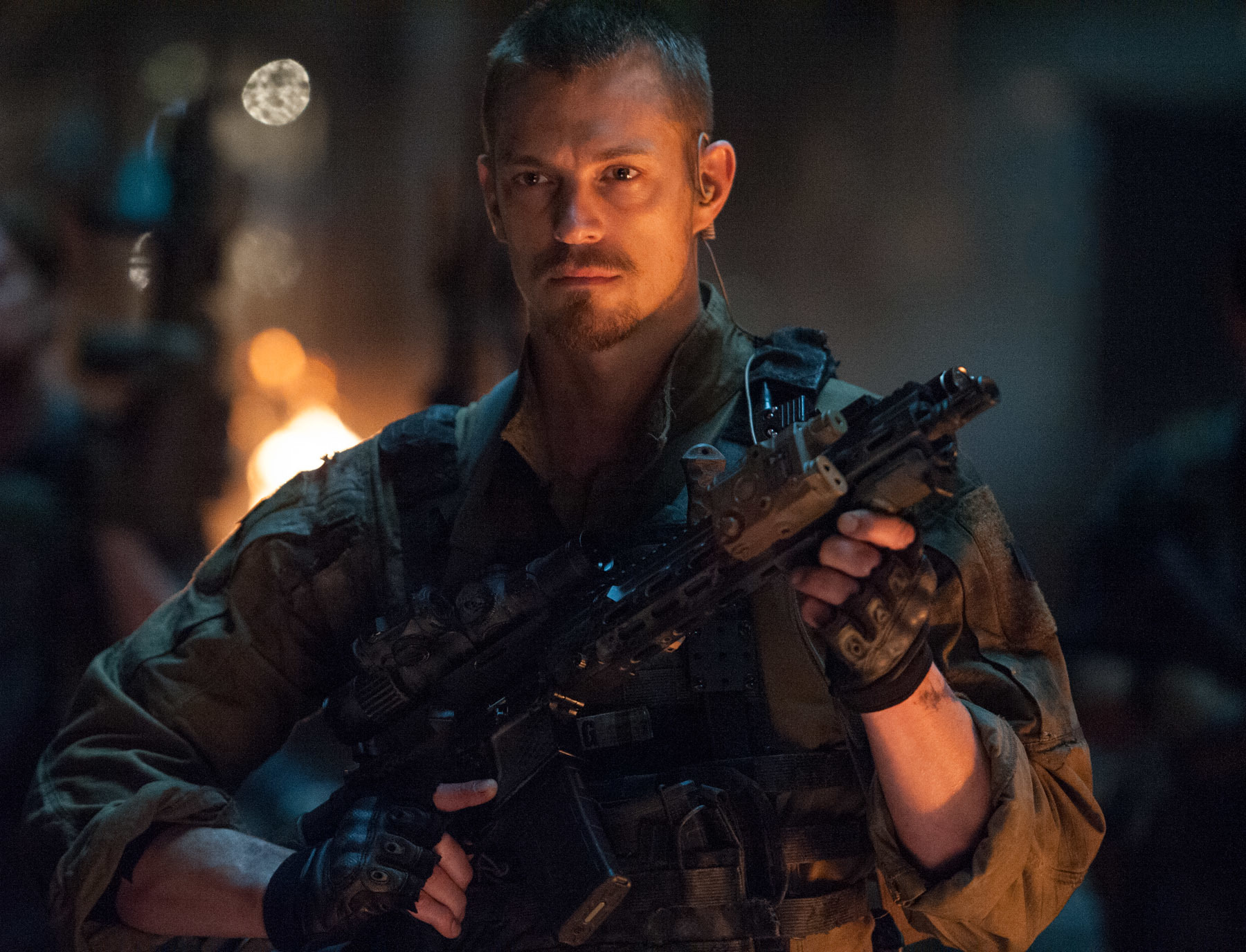 Joel Kinnaman on being burned by shell casings and nearly castrated on set: