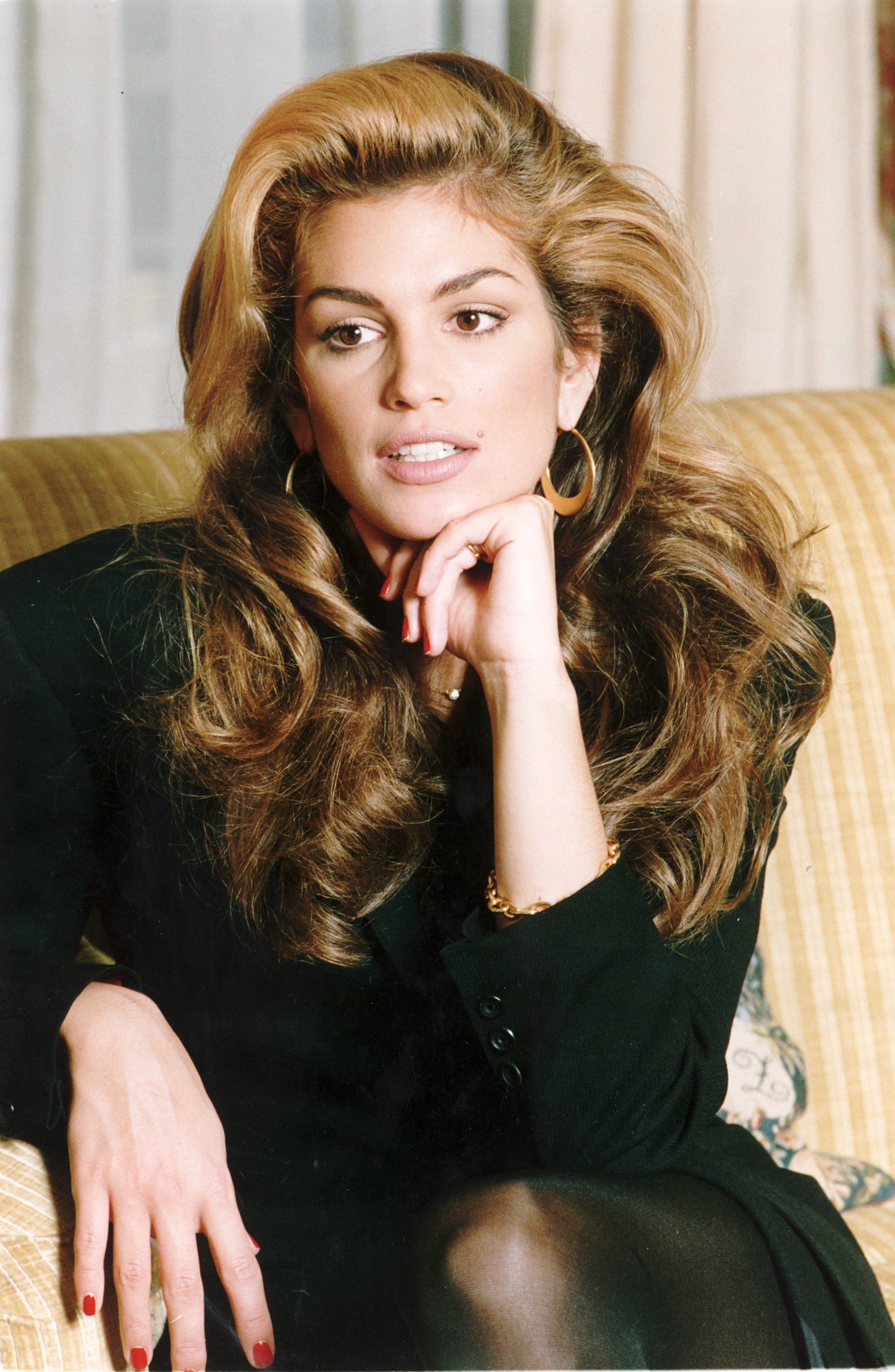 Cindy Crawford Young Model Supermodels Of The 80s And