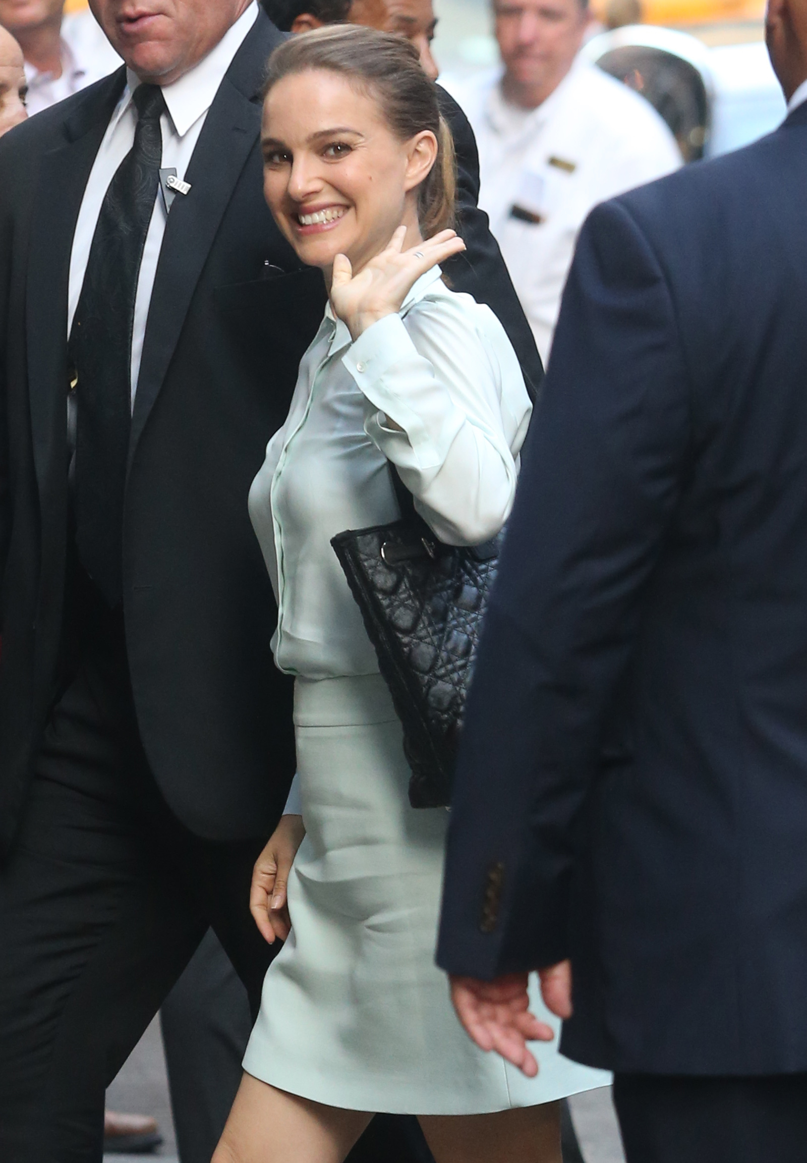 Why Natalie Portman is happy to be back in L.A.