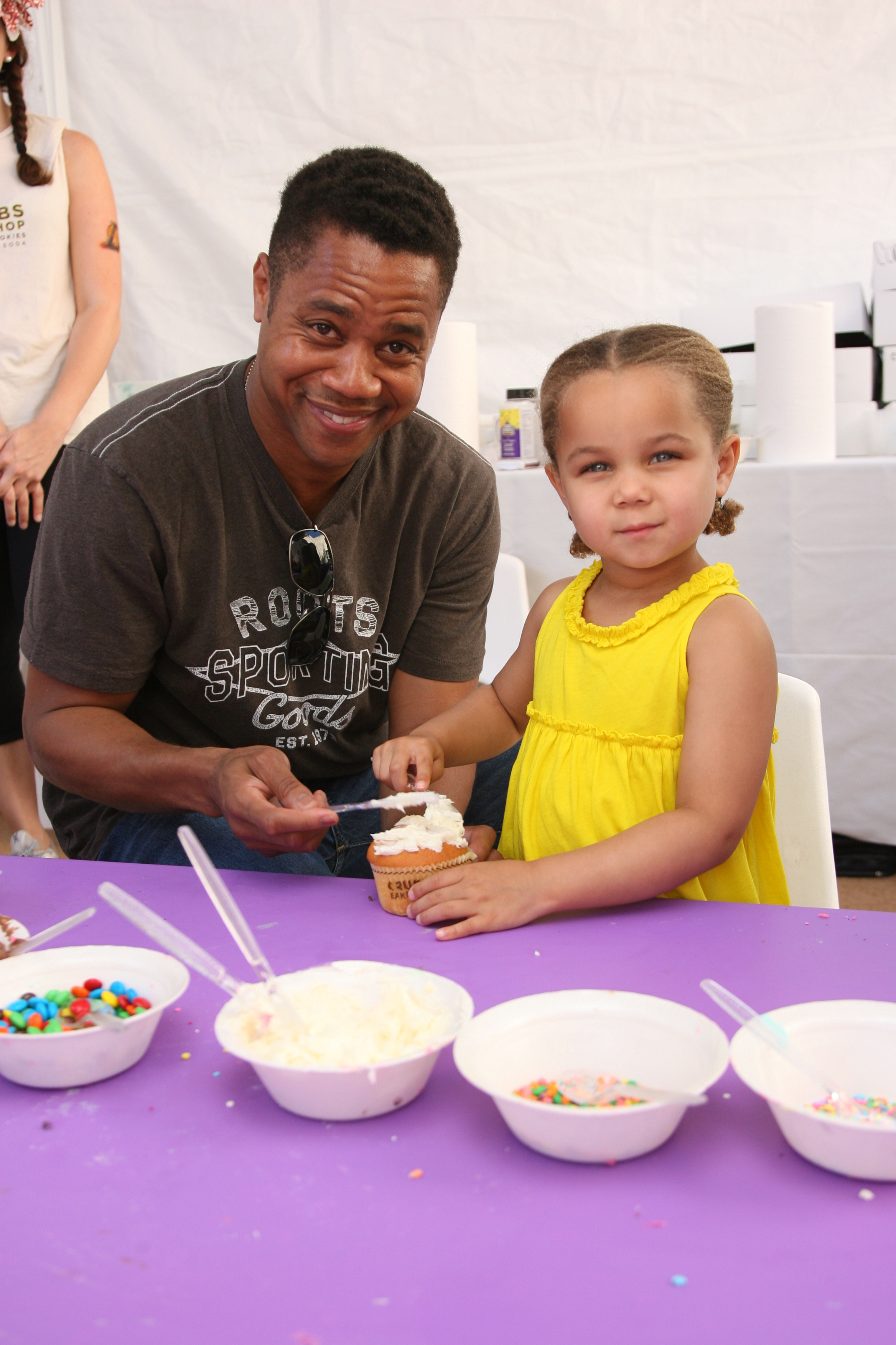 Cuba Gooding Jr. on whether or not any of his three kids dance: