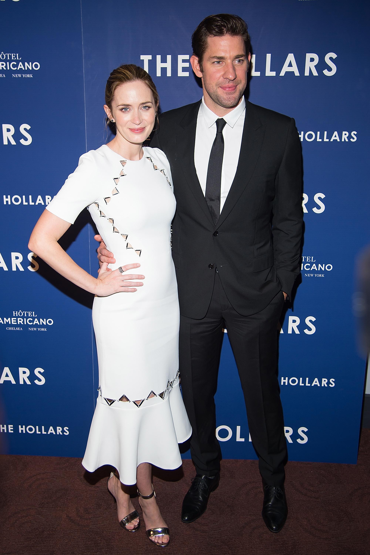 Emily Blunt, John Krasinski hang with famous friends in New York