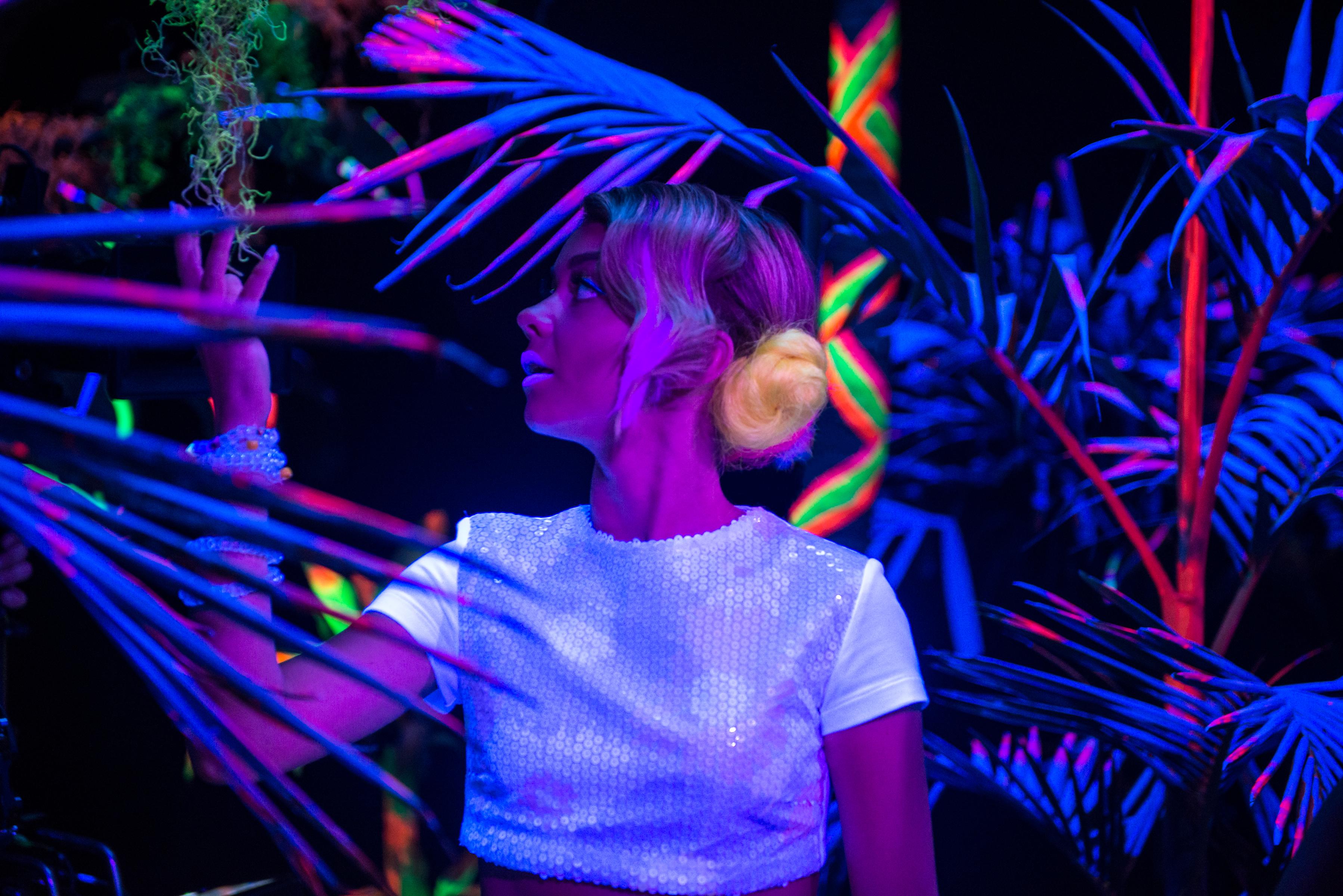 "Sarah Hyland on her Harajuku inspired ""XOXO"" wardrobe:"