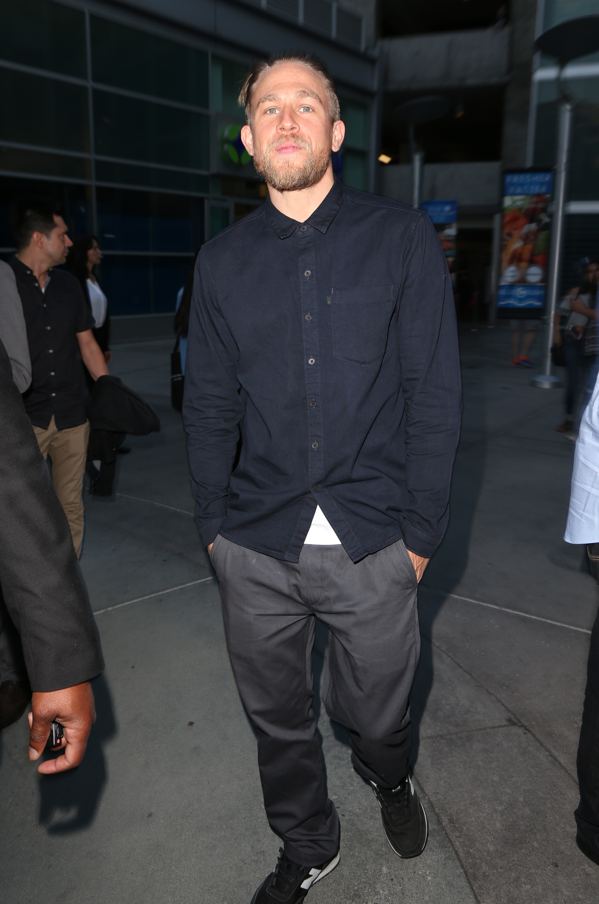 Charlie Hunnam might never see 'Fifty Shades'