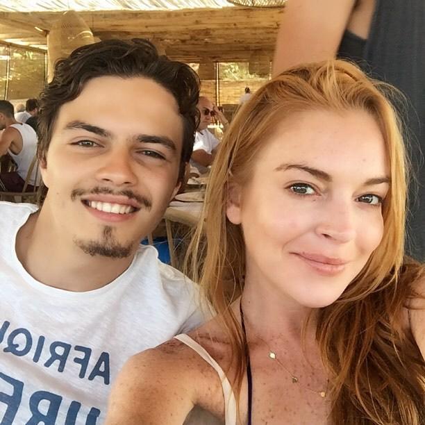 Egor Tarabasov Lindsay Lohan
