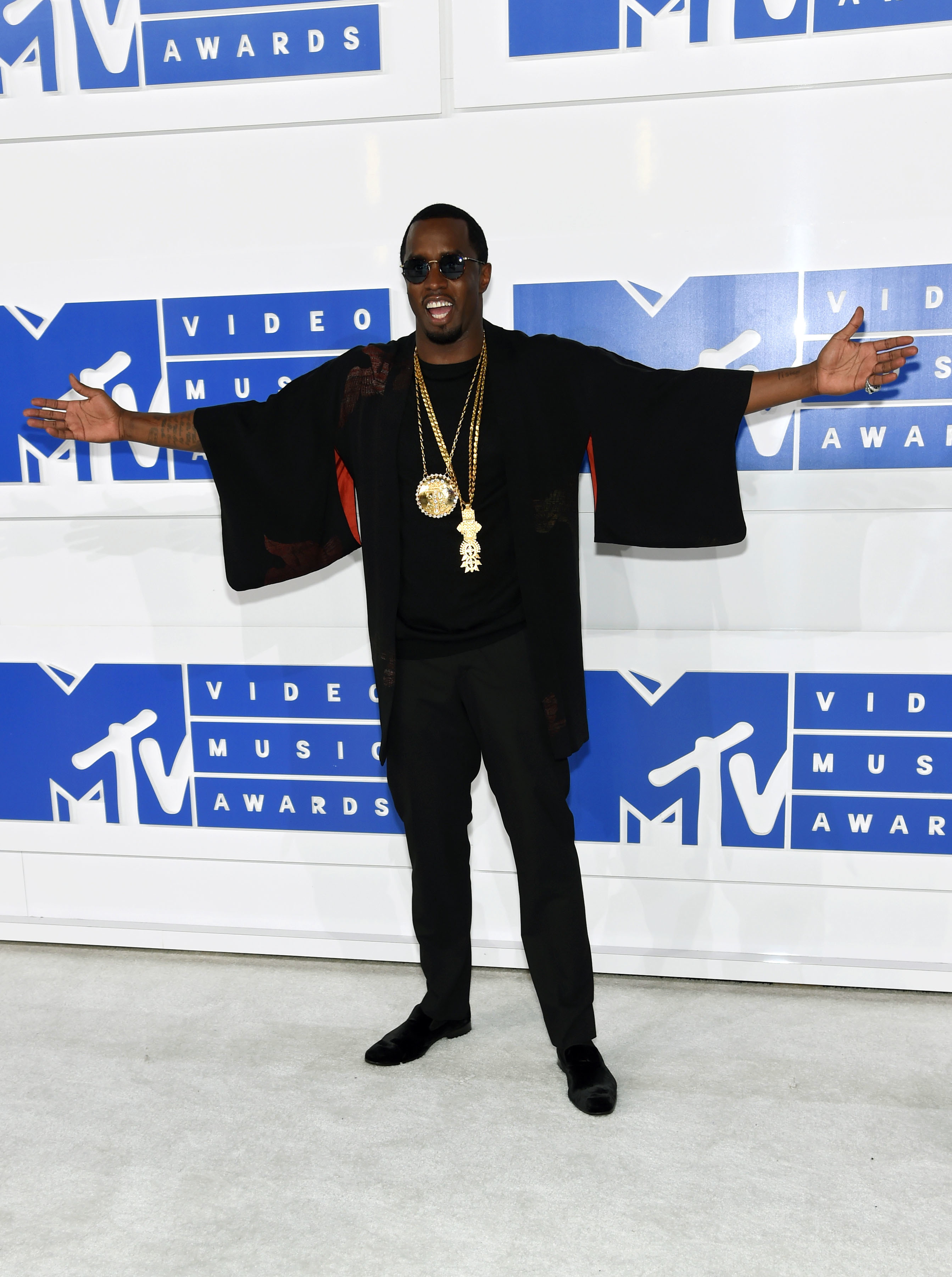 Diddy welcomes students at his new charter school