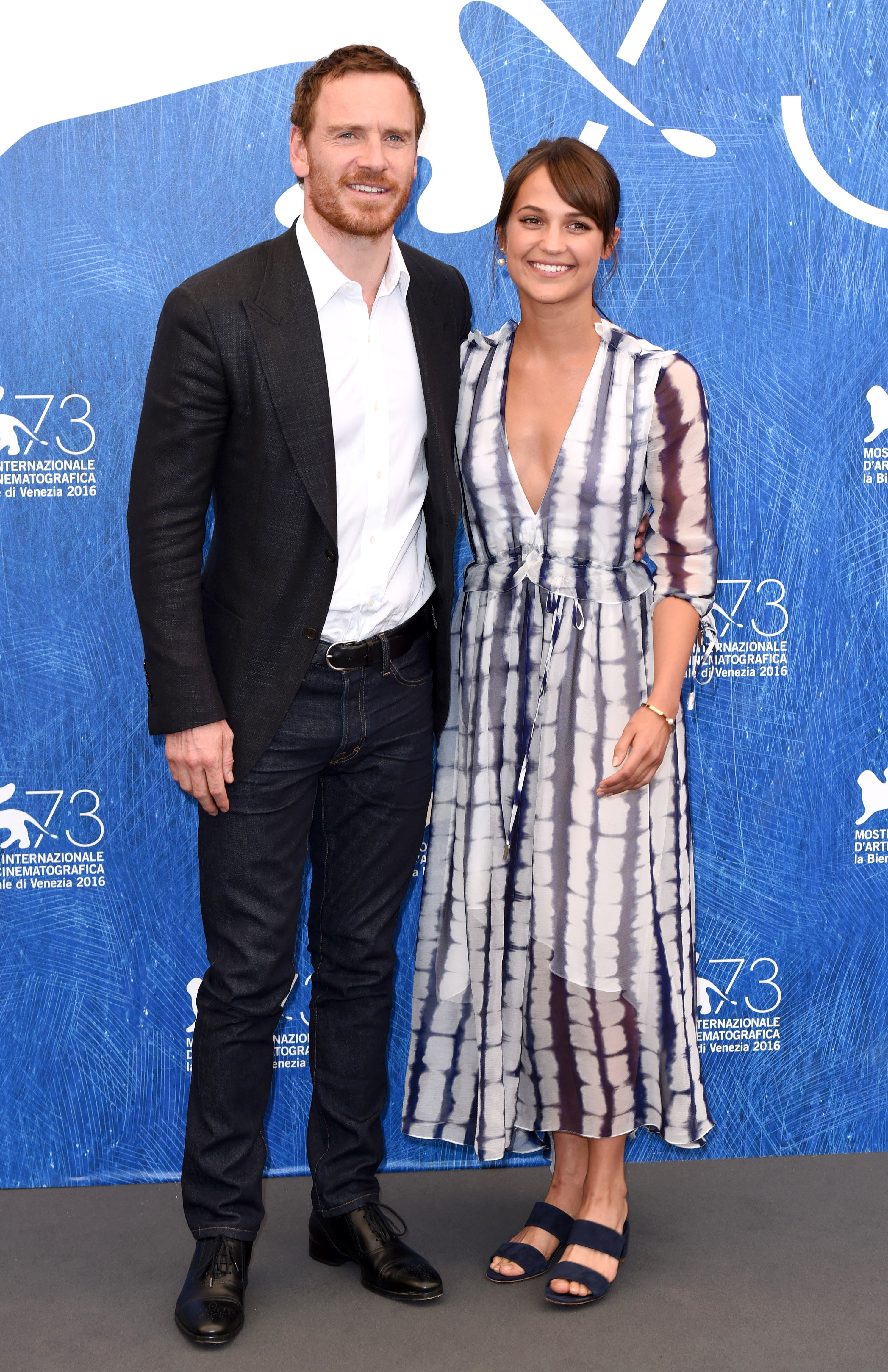 Michael Fassbender and Alicia Vikander make it red carpet official