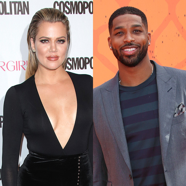 Khloe Kardashian enjoys a romantic dinner with Tristan Thompson