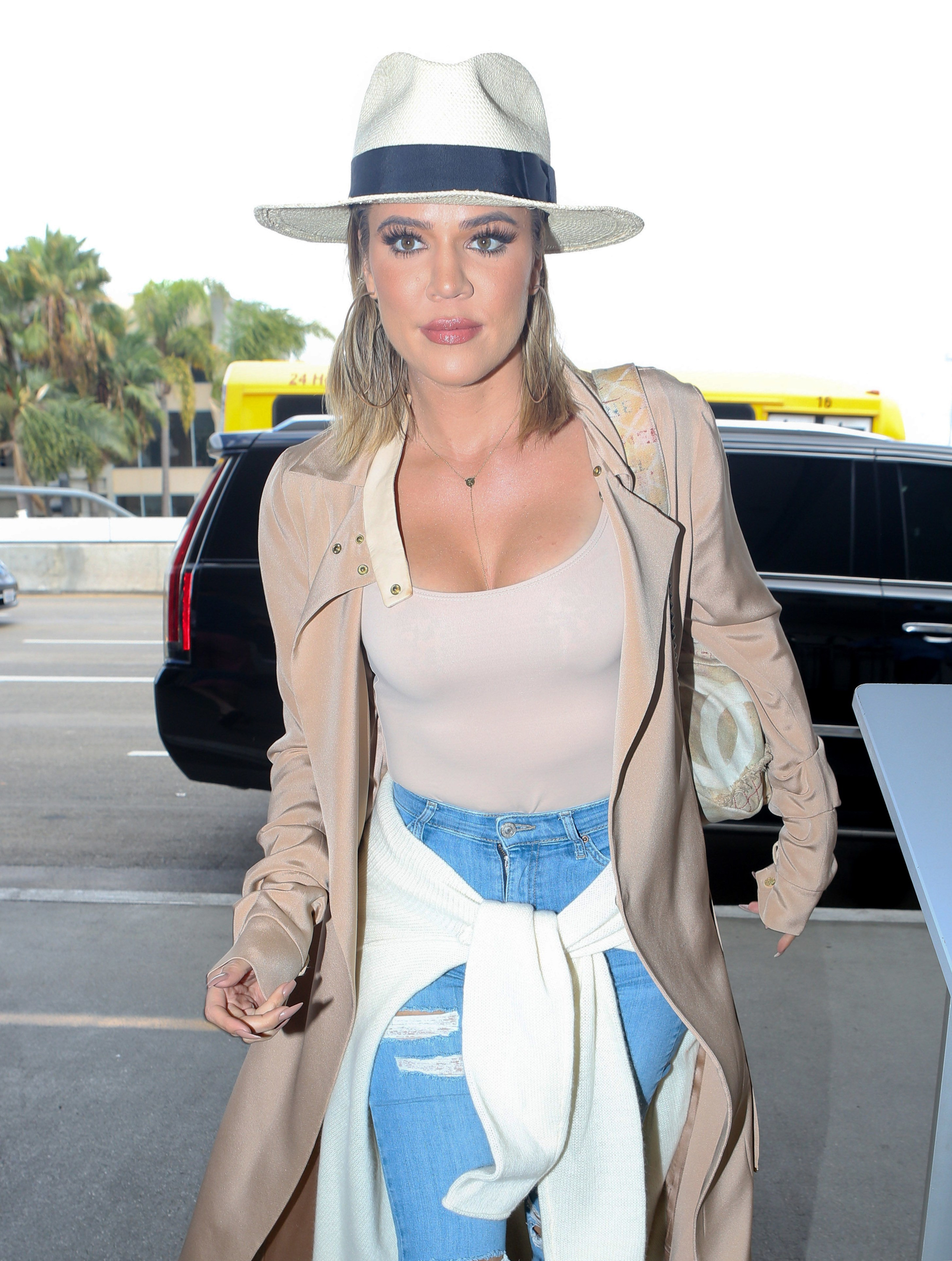 Is Khloe Kardashian easing off heightened security?