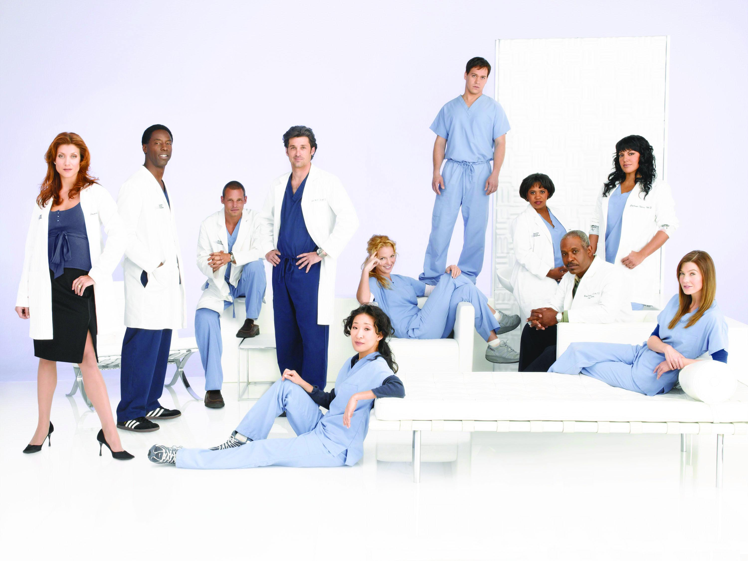 Grey\'s Anatomy doctors ranked - Seattle Grace\'s 20 hottest staffers ...