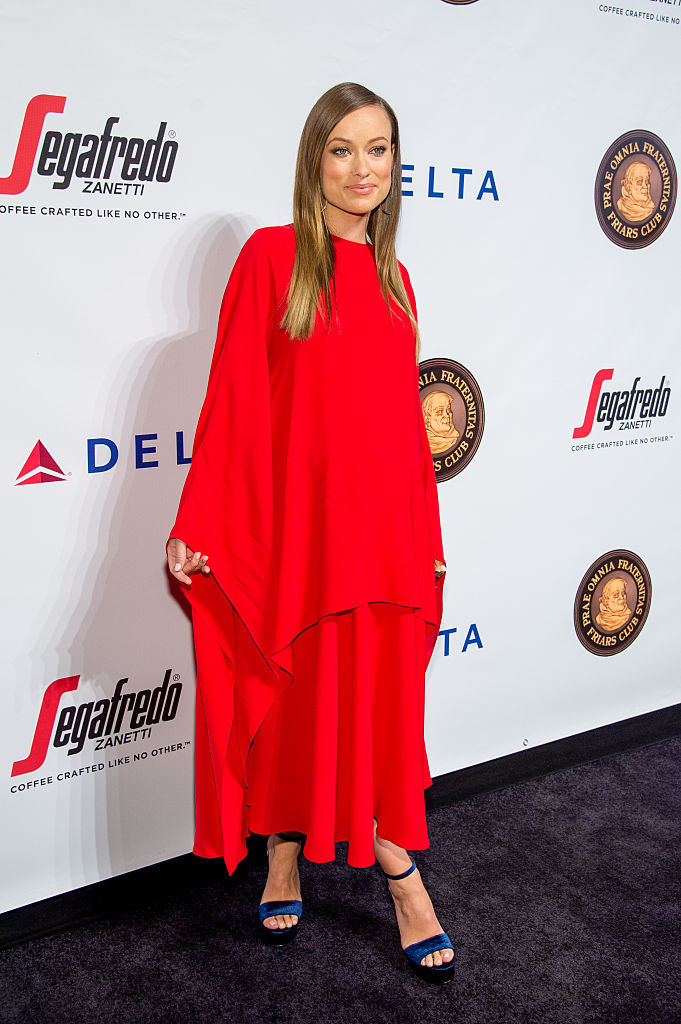 Olivia Wilde stuns at event honoring Martin Scorsese