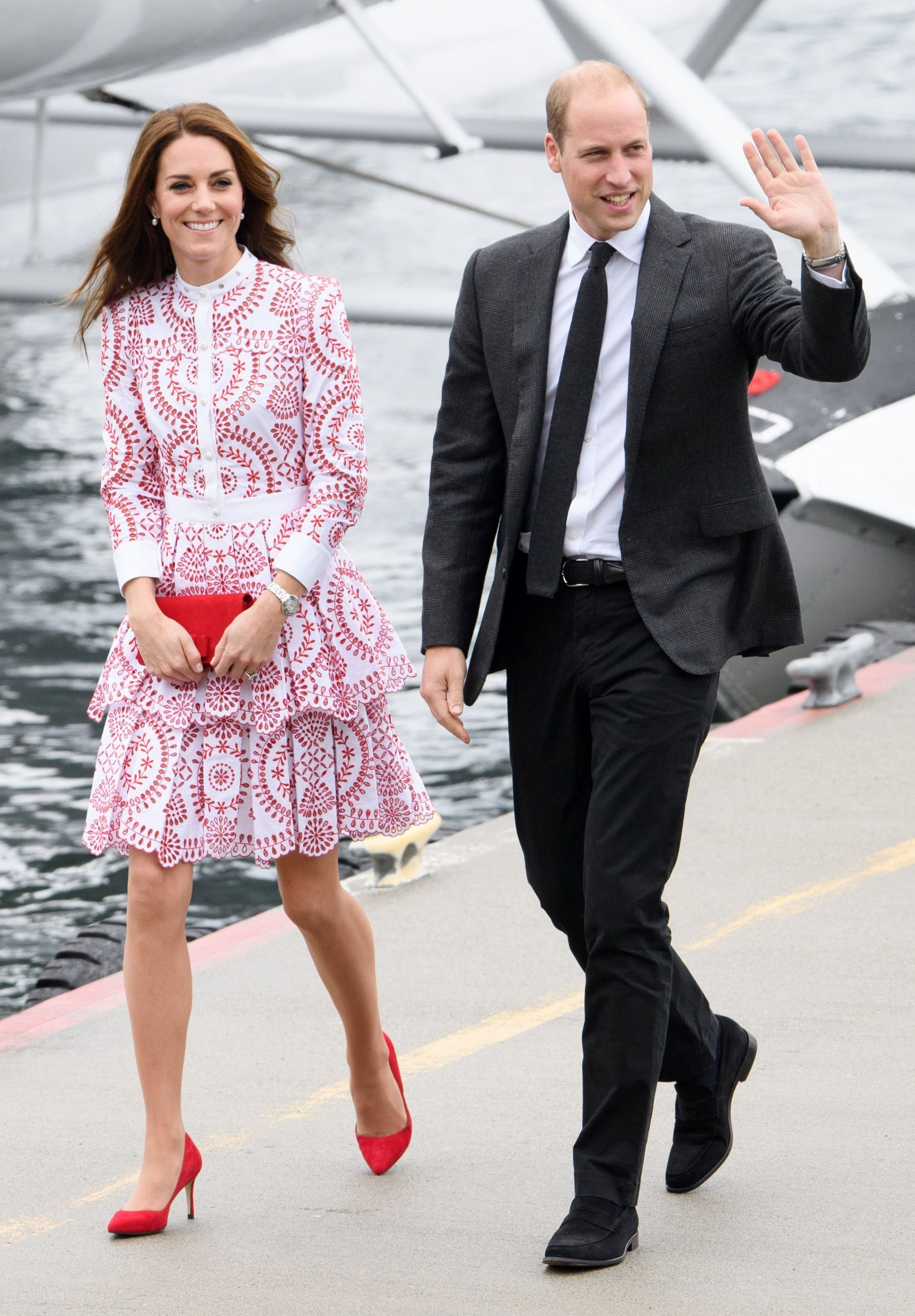 prince william kate seaplane