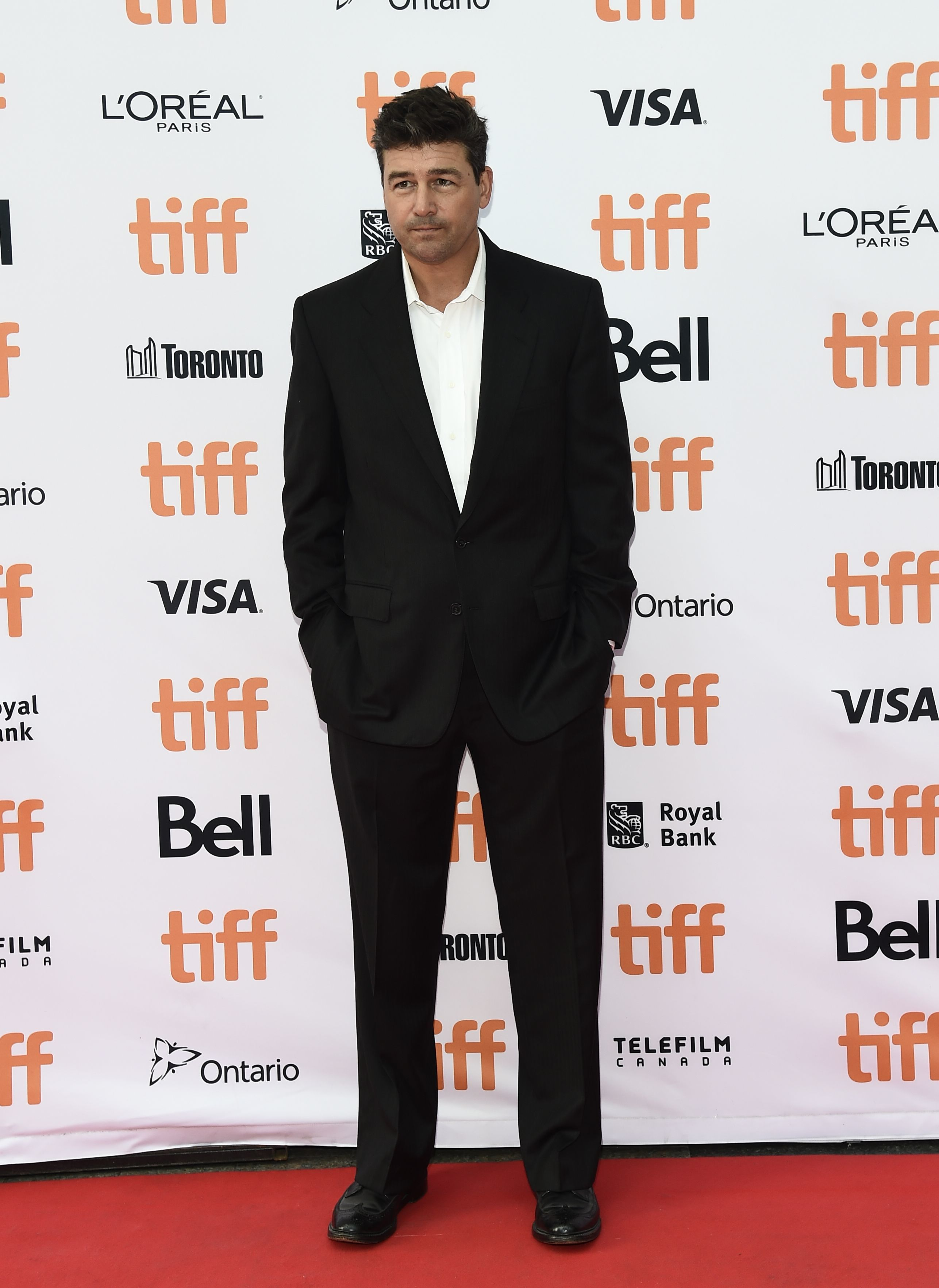 Kyle Chandler attends the 'Manchester By The Sea' premiere at the Toronto International Film Festival, on Sept. 13, 2016.