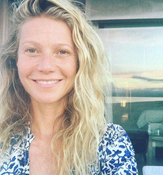 Gwyneth Paltrow goes makeup free for her birthday