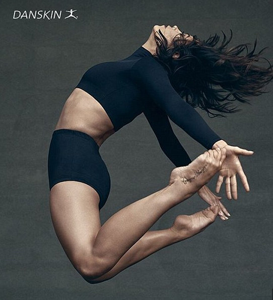 Jenna Dewan stars in Danskin's new campaign