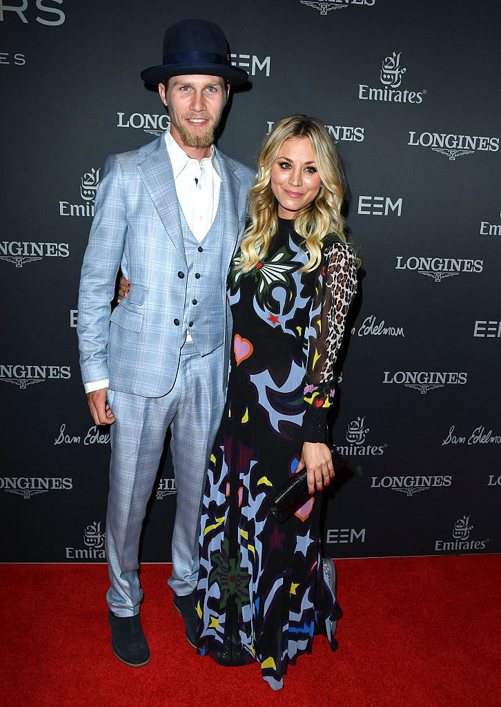 Kaley Cuoco and Karl Cook make their red carpet debut as a couple