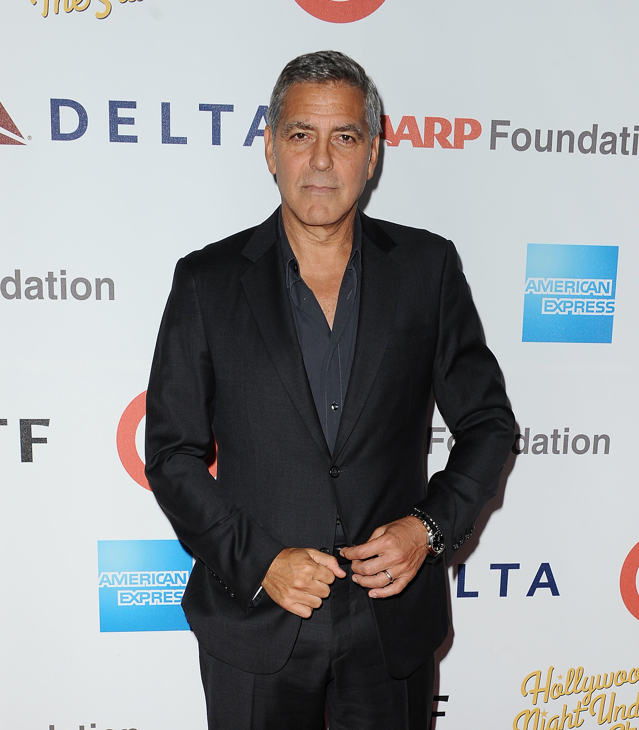 George Clooney's exes party together for Halloween