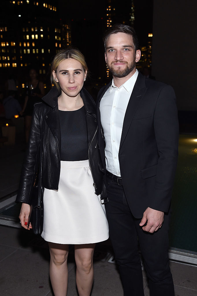 Zosia Mamet gets hitched