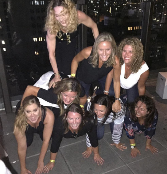 Amy Schumer hangs with Madonna after MSG show