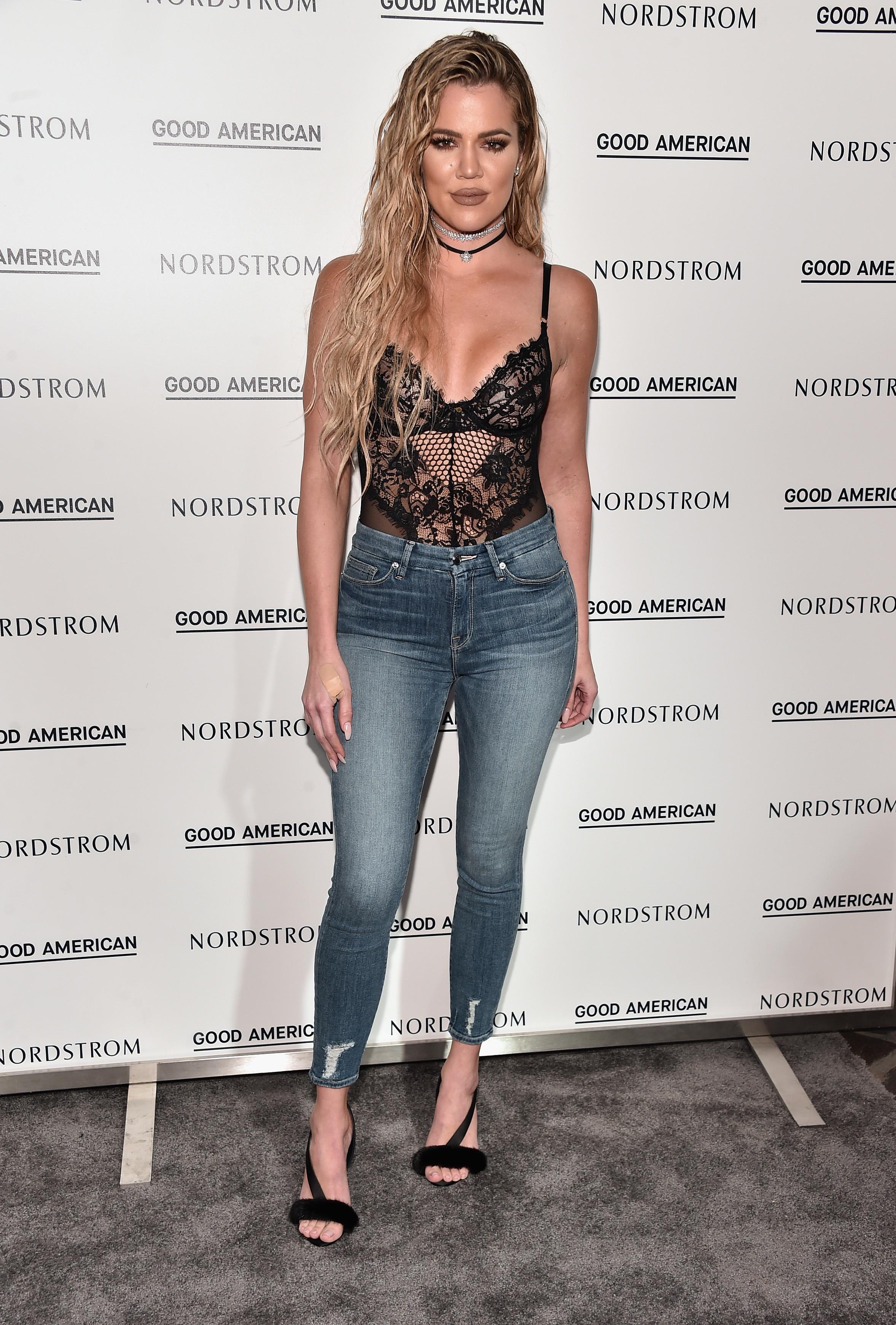 Khloe Kardashian's Good Waist jeans sell out again