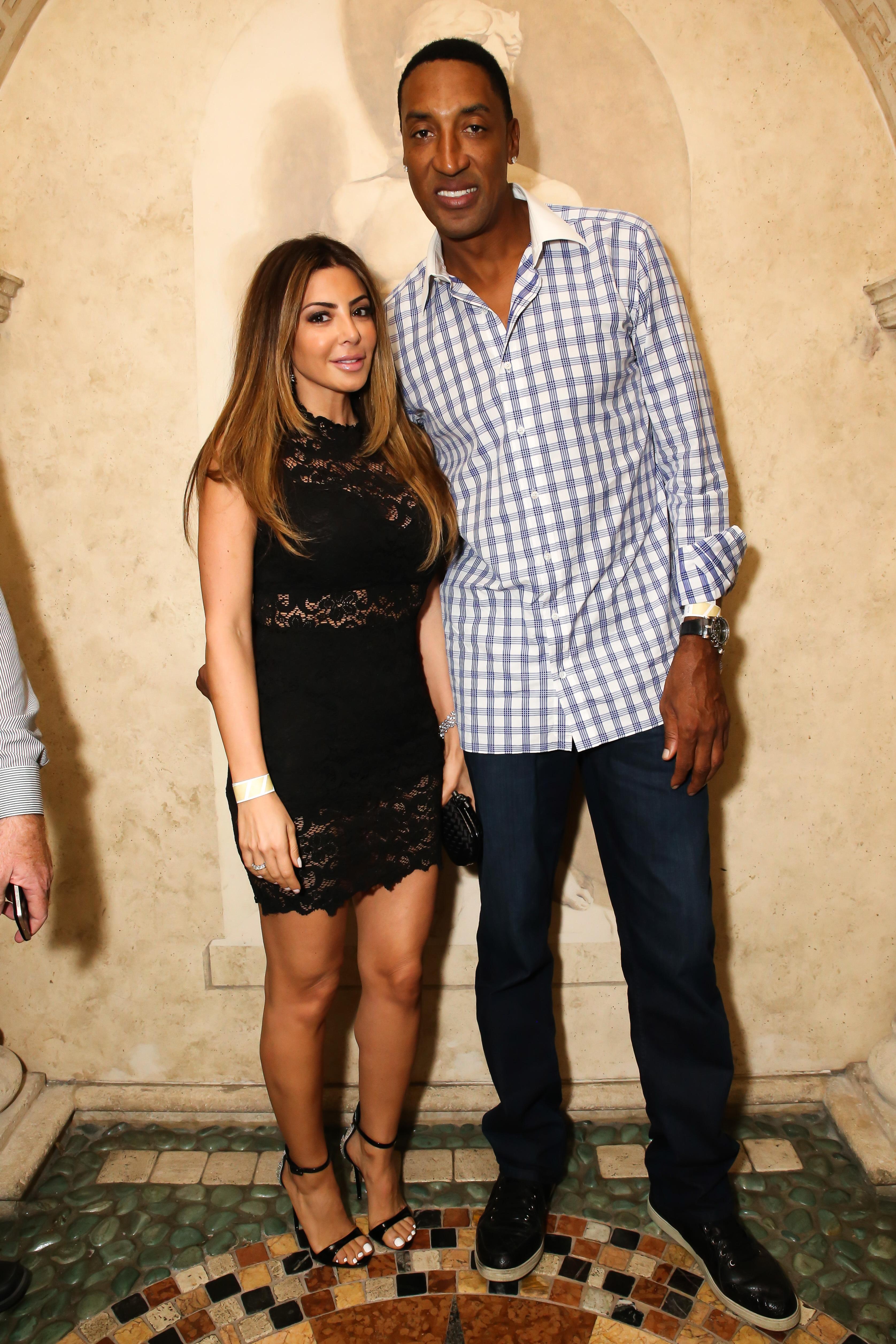Larsa and Scottie Pippen in Miami