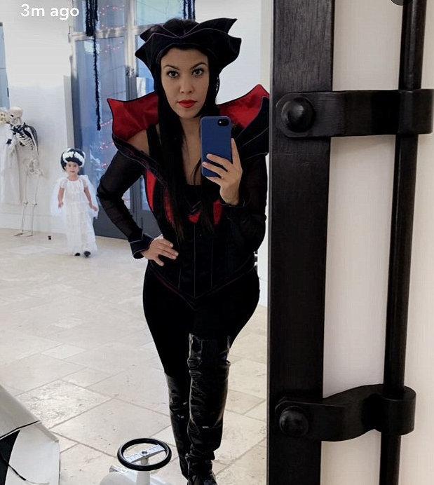 Kourtney Kardashian is ready for Halloween