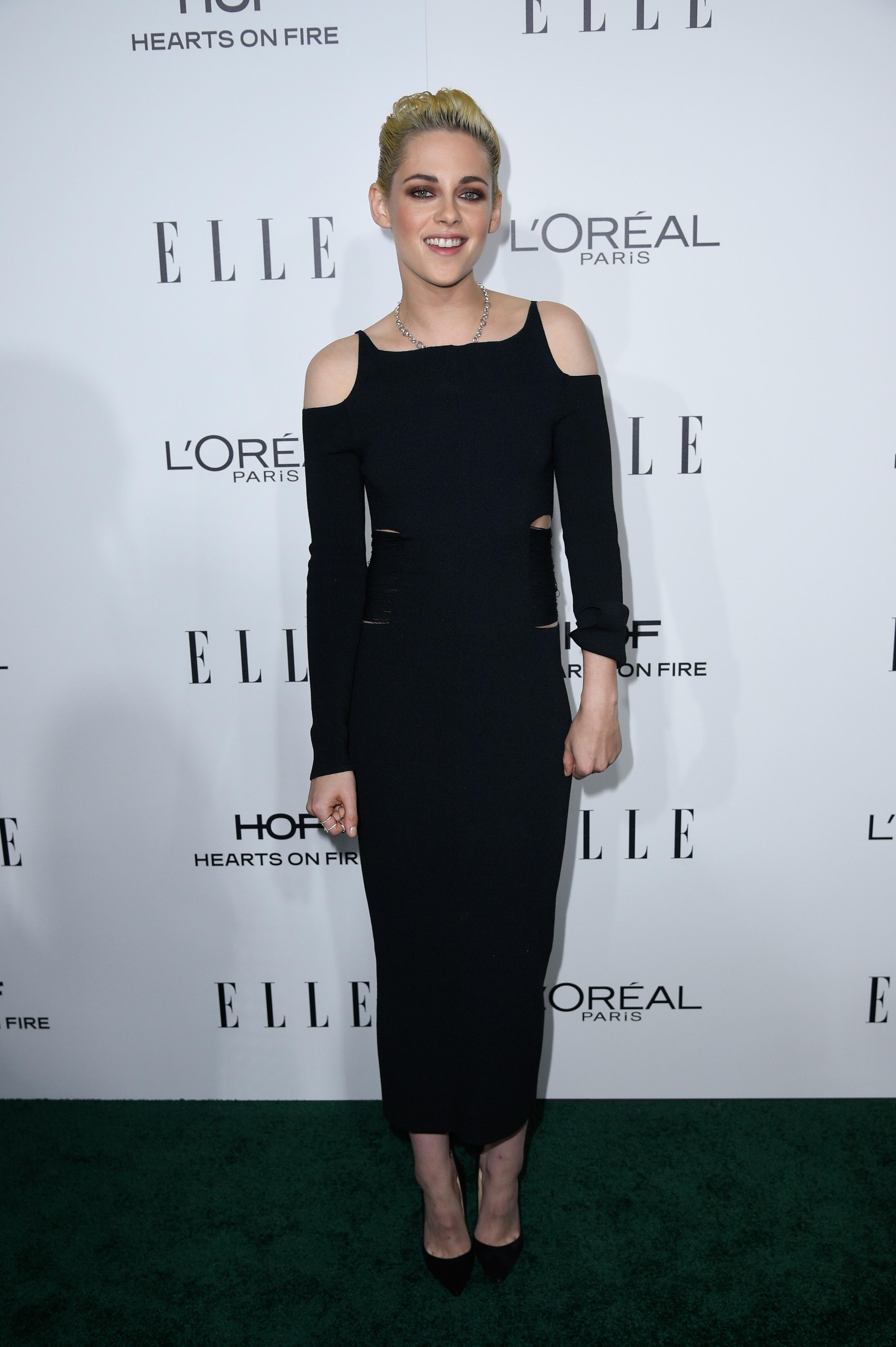 Kristen Stewart, St. Vincent enjoy a date night at Elle Awards