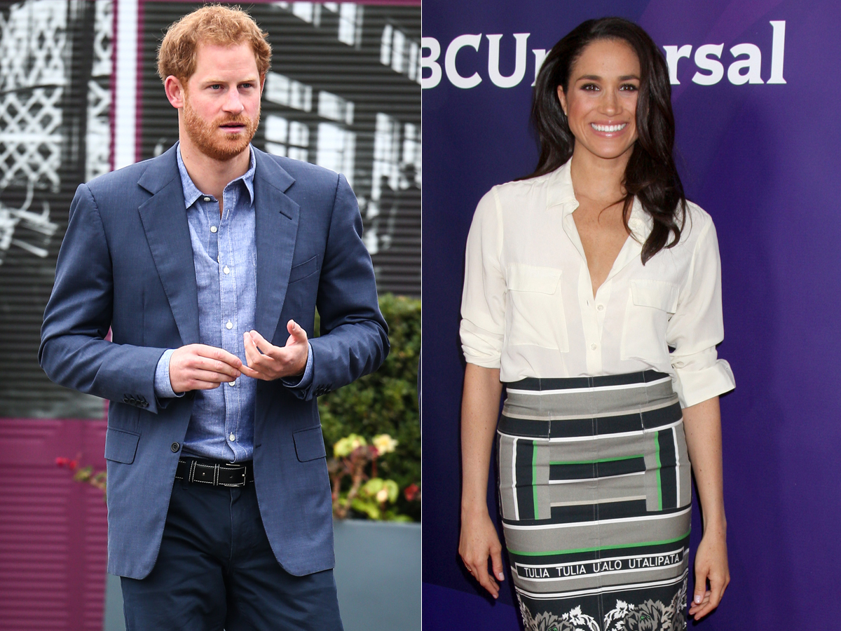 "Prince Harry ""besieged"" new girlfriend Meghan Markle with texts"