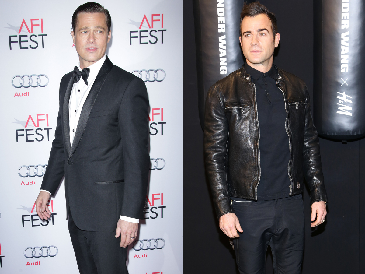 "Justin Theroux explains ""shading"" Brad Pitt"