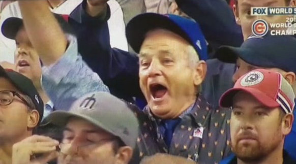 Bill Murray's Cubs joy is all of our Cubs joy