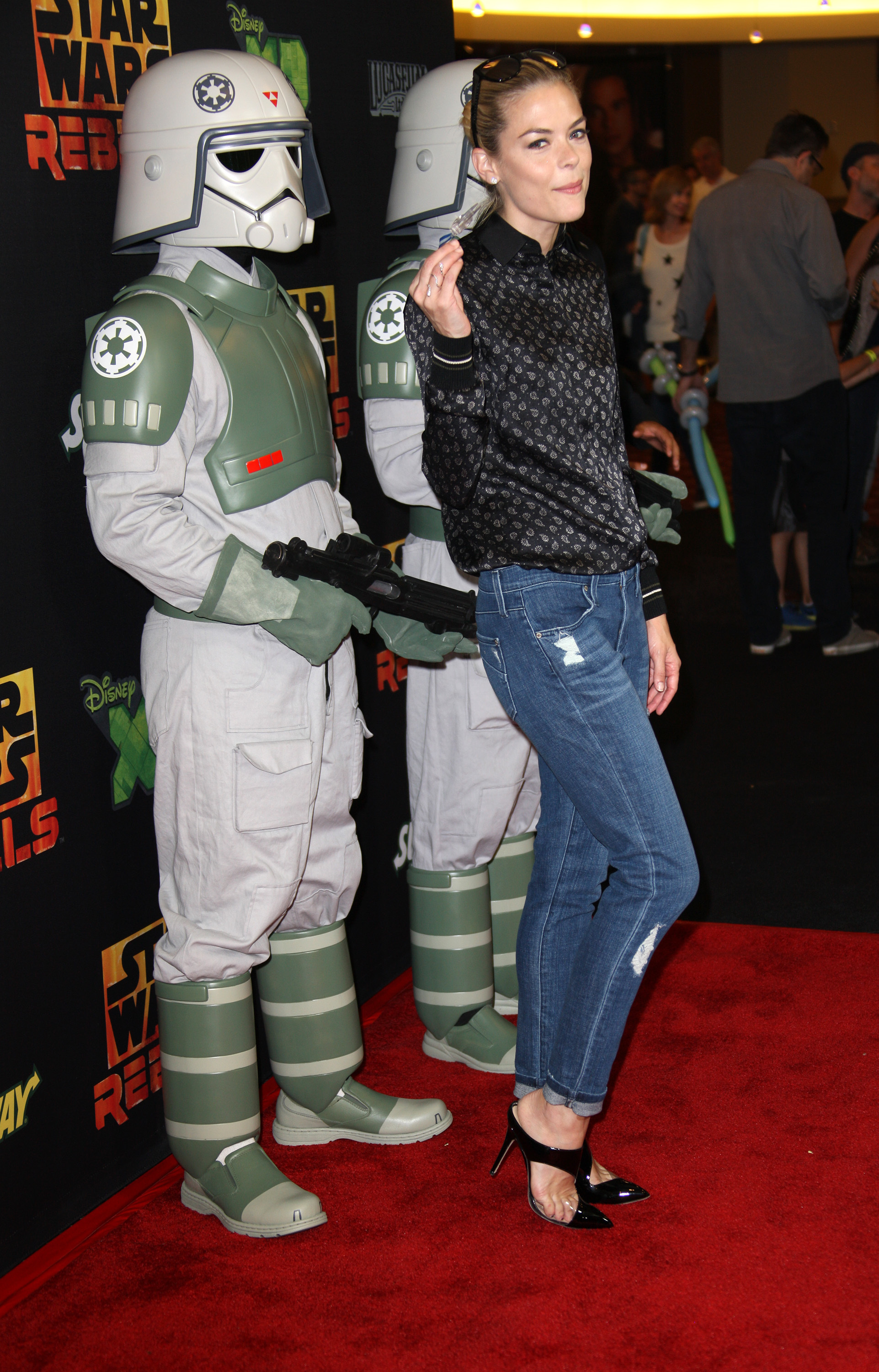 """Jaime King on voice acting in the """"Clone Wars"""" series:"""