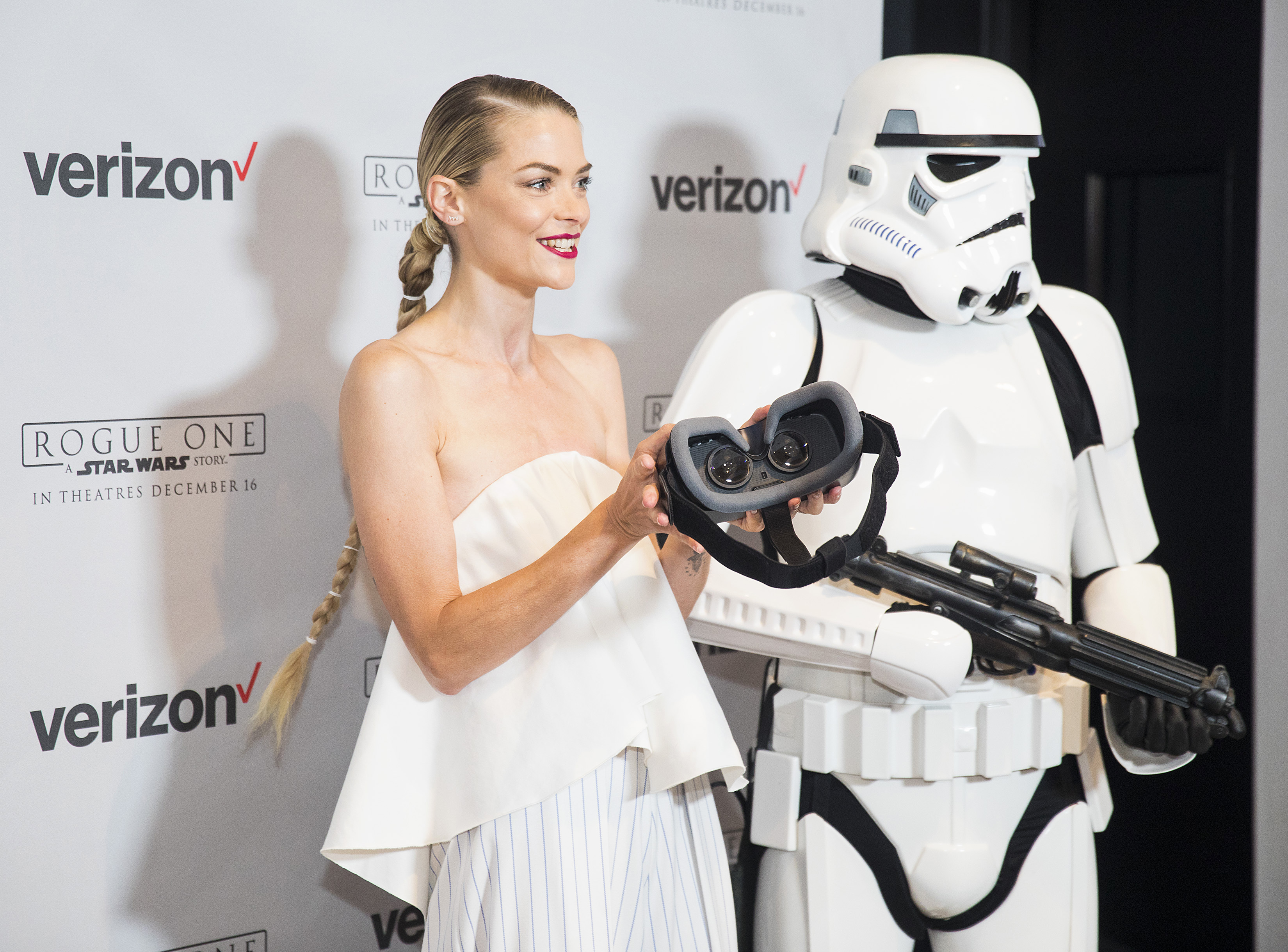 Jaime King on the 501st Legion, an elite group of Stormtrooper cosplayers: