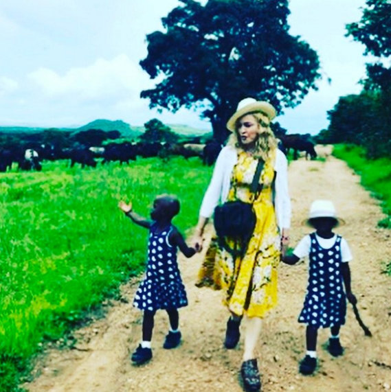 Madonna releases an official statement about her newly adopted twins