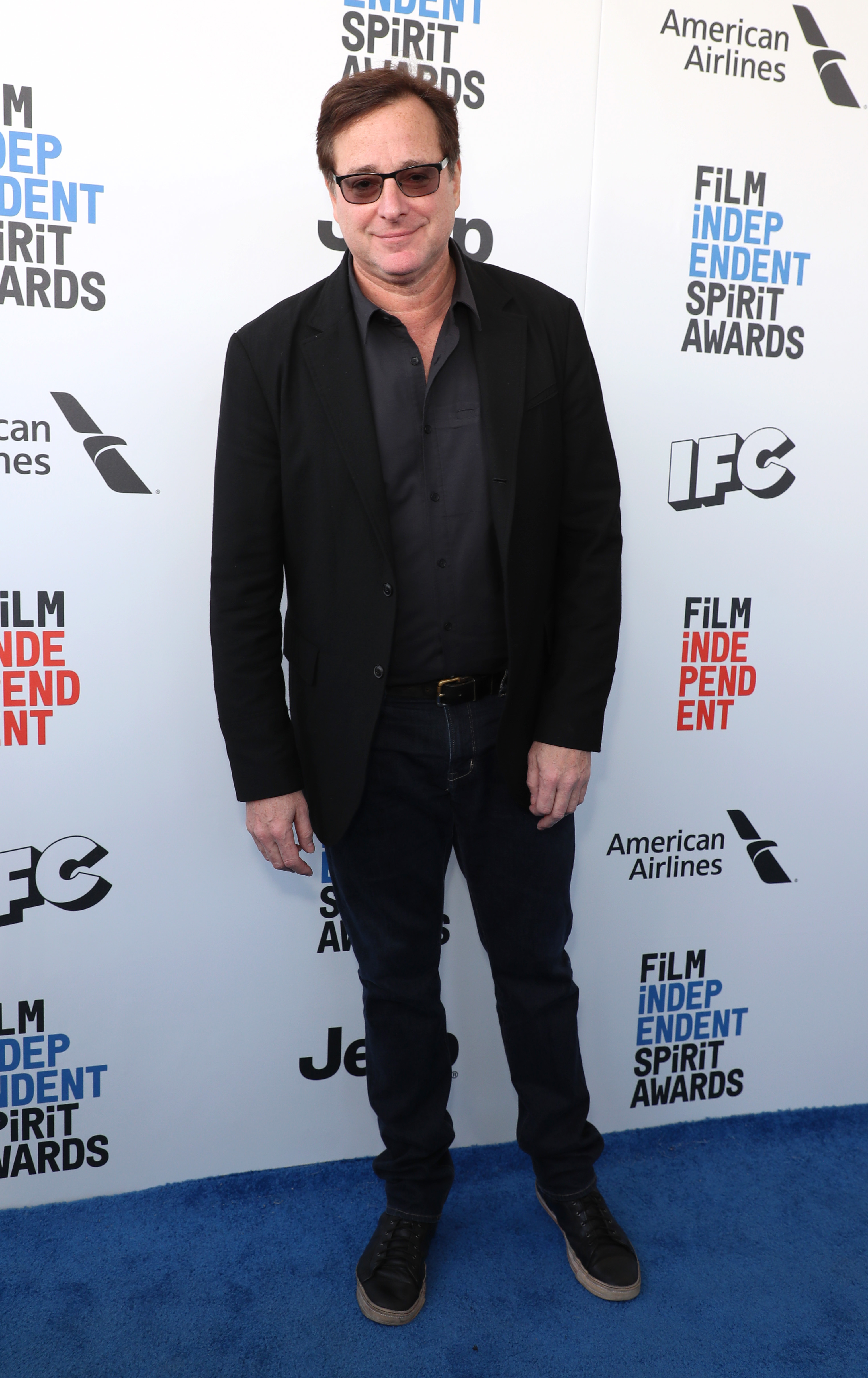 Bob Saget attends the 32nd Film Independent Spirit Awards in Los Angeles on Feb. 25, 2017.