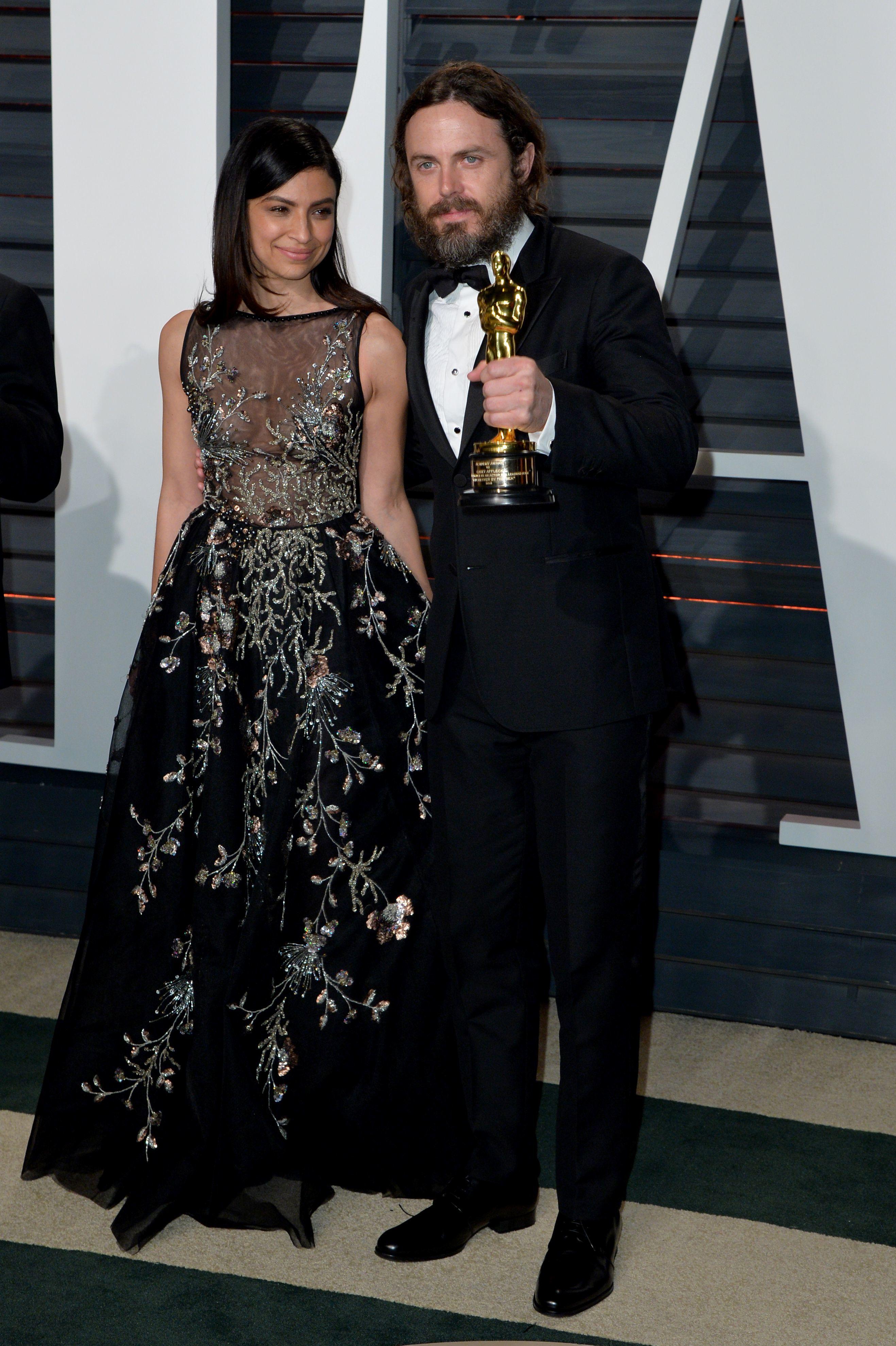 Casey Affleck and Floriana Lima