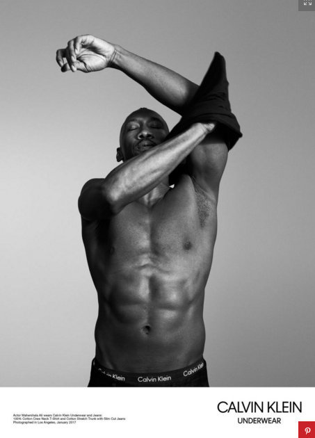 'Moonlight' cast strips down for Calvin Klein