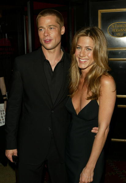 Jen Aniston Brad Pitt Back Together Celeb Love For Feb