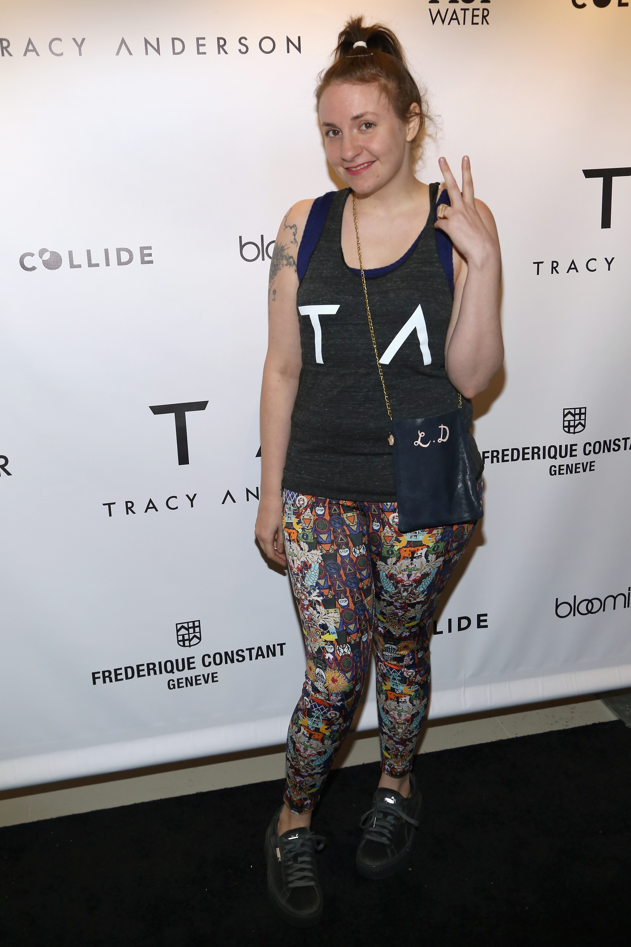 Lena Dunham: 'My weight loss isn't a triumph' or 'a sign I've given in to trolls'