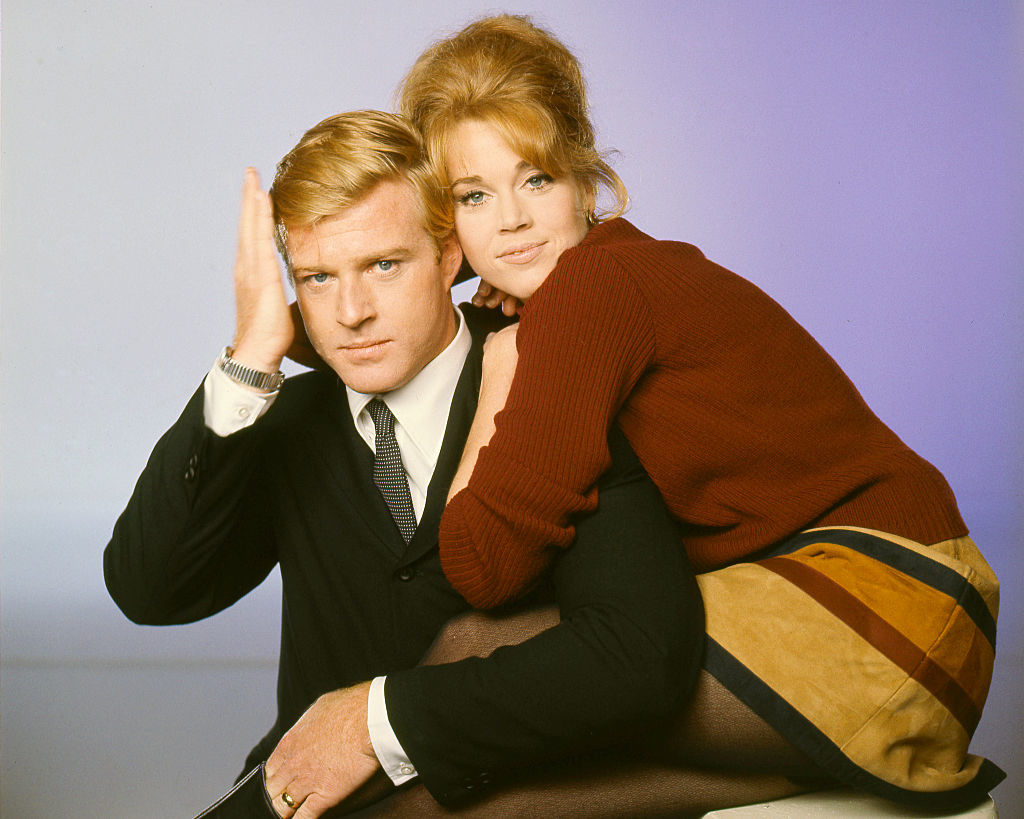Why Jane Fonda forgot her lines while working with Robert Redford