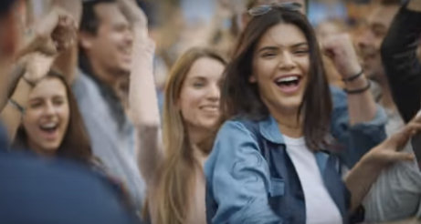 Kendall Jenner stars in socially aware Pepsi ad