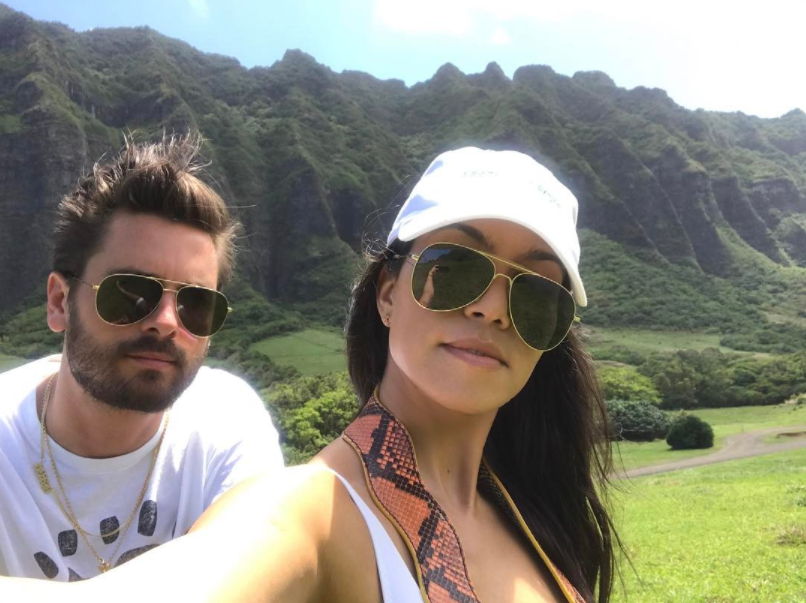 Kourtney Kardashian and Scott Disick celebrate Mason's birthday together