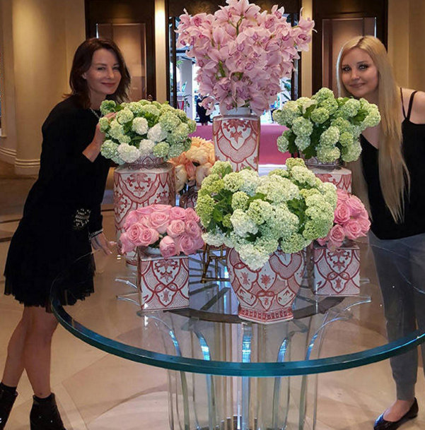 """""""""""Stopping to smell the flowers on a gorgeous Sunday!""""   Amanda Bynes, who shared this on April 23, 2017"""