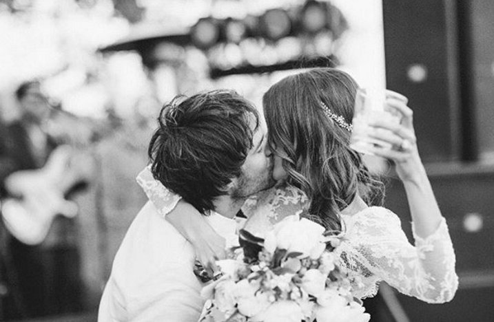 Nikki Reed shares a photo from her wedding with Ian Somerhalder on April 26, 2017.