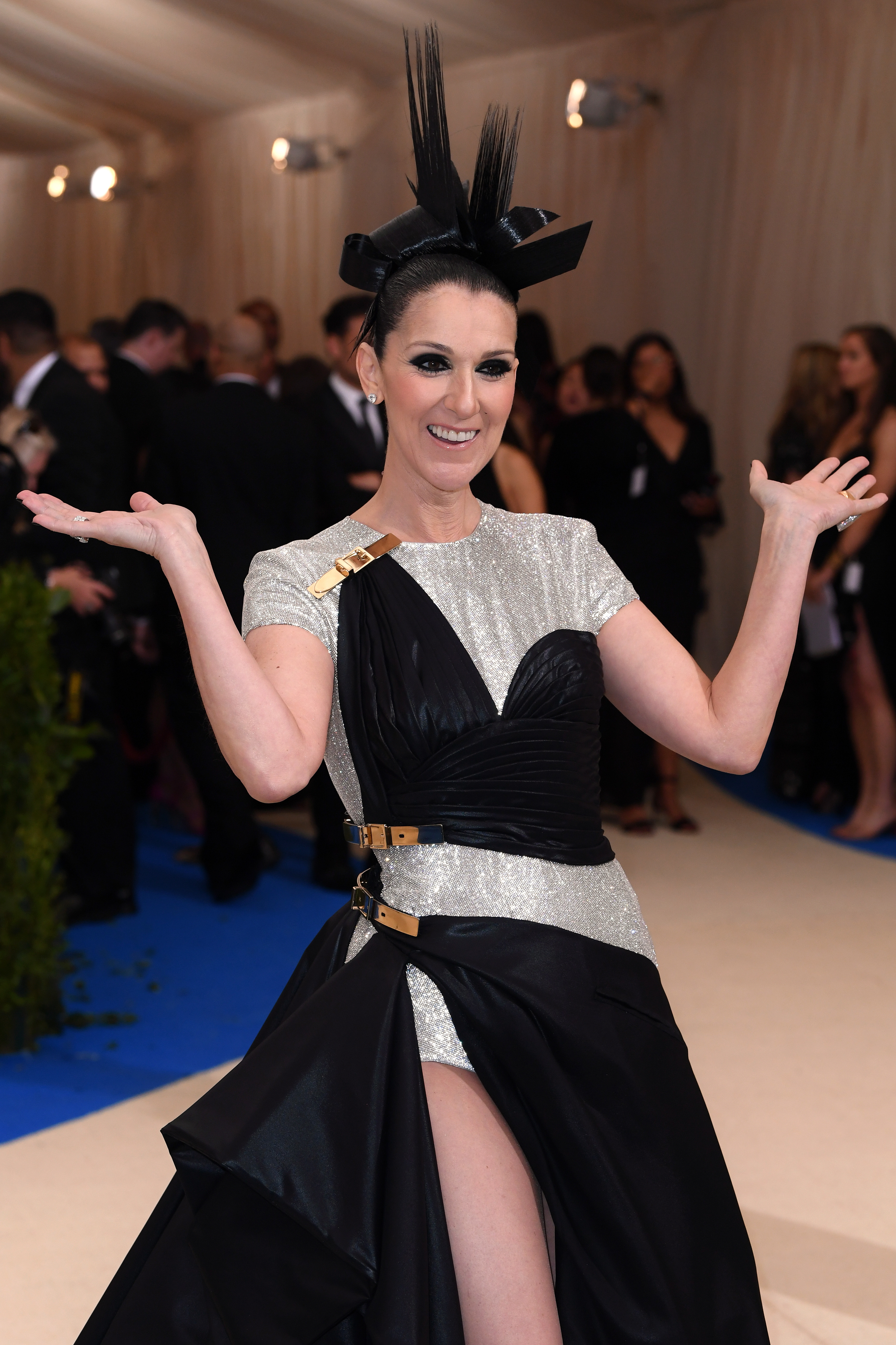 She stole the show at her first Met Gala